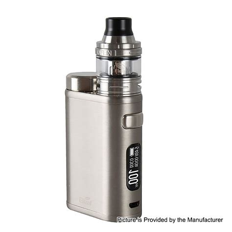 Authentic Eleaf iStick Pico 21700 100W Brushed Silver Mod