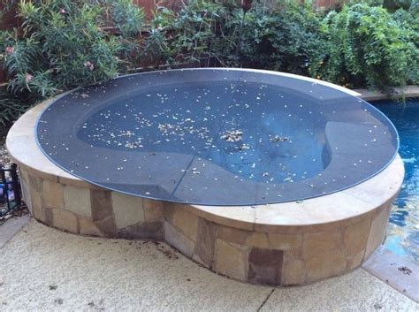 Hot Tub Cover Round Spa Leaf Net Outdoor Jacuzzi UV 9ft