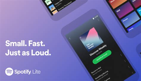 Spotify Lite announced to cater to older Android