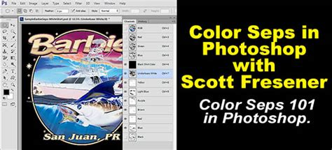 Color Separations in Photoshop with Scott Fresener